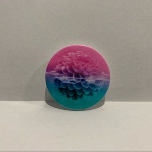 Pink Blue Teal Ombré Acorn Floating Popsocket